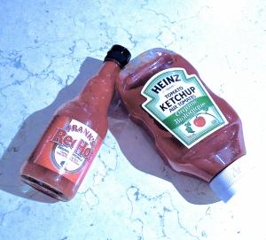 hot sauce vs ketchup
